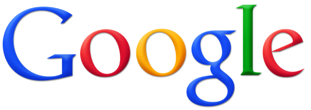 Google logo. Courtesy of Wikimedia Commons.