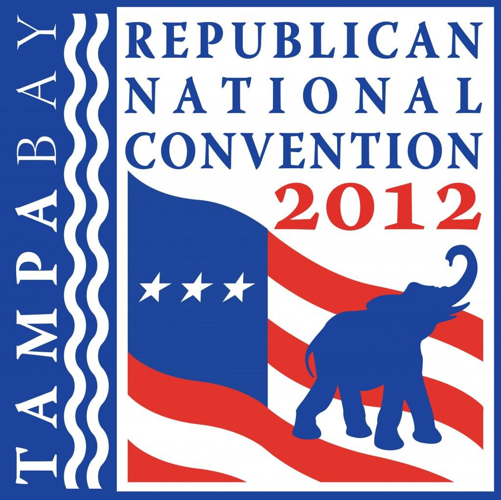2012 Republican National Convention Logo. Courtesy of the RNC web site.