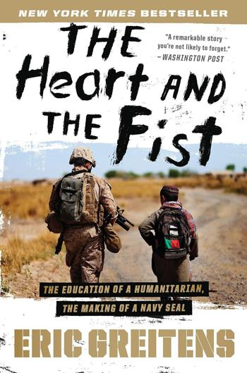 The Heart and The Fist Paperback Cover.