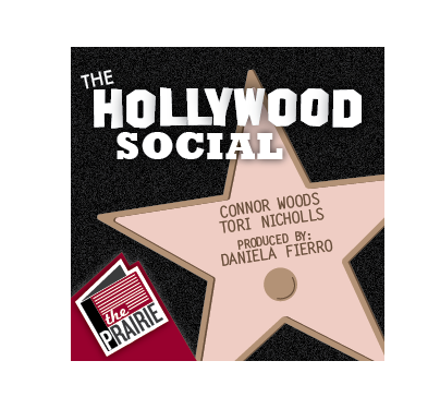 Hollywood Social Logo. Cover art by Chris Brockman.