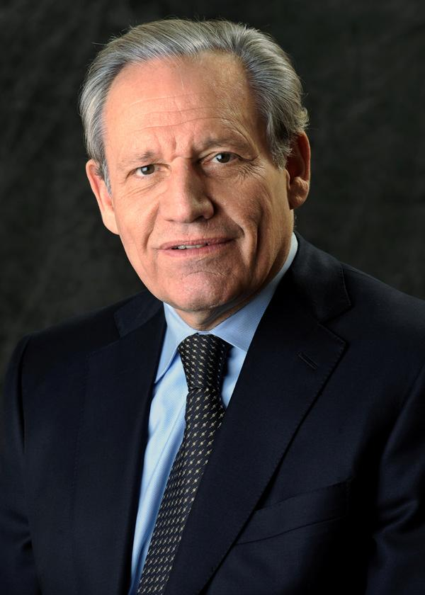 Bob Woodward visited WT. Photo courtesy of WT Communications.
