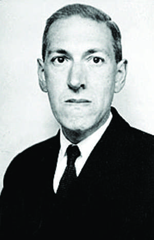 Howard Philips Lovecraft, author of horror novels.