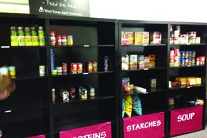Buffs Can food pantry opens on WT campus