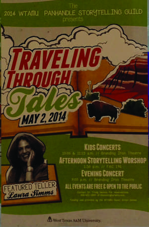 The poster for Traveling Through Tales.