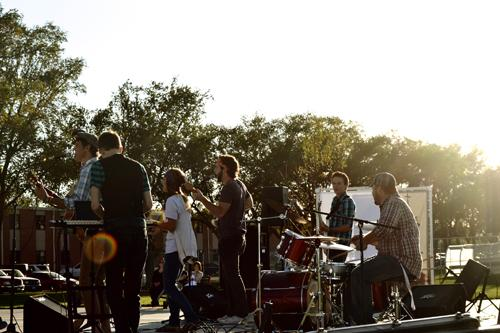 Woot and the Handclaps at Battle of the Bands. Photo by Daniela Fierro.