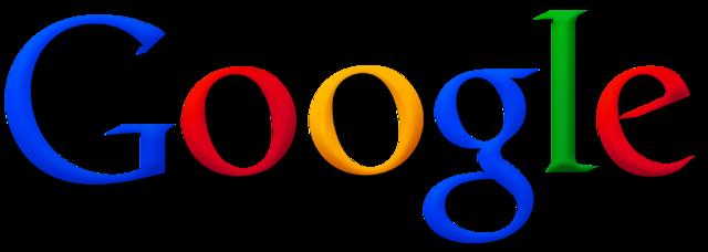 Google logo. Courtesy of Wikimedia Commons.