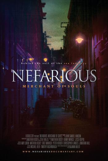 Nefarious poster. Courtesy of the Nefarious Facebook Page.