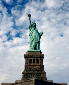 The Statue of Liberty. Photo courtesy of Stock Exchange.