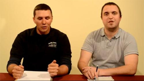 Screenshot of The Lee and Liger Sports Talk, Episode 2.