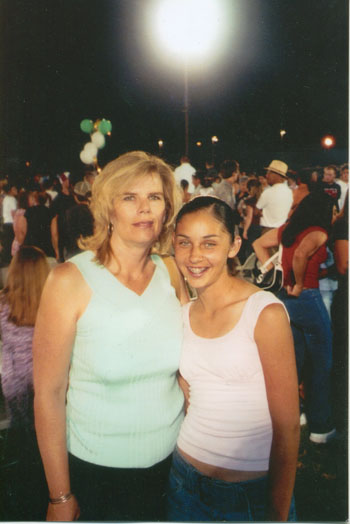 My sister was 13 in this photo and it was taken at her brothers High school graduation. Pic taken in 2004. Photo courtesy of the Garcia family. Caption courtesy of Michael Garcia.