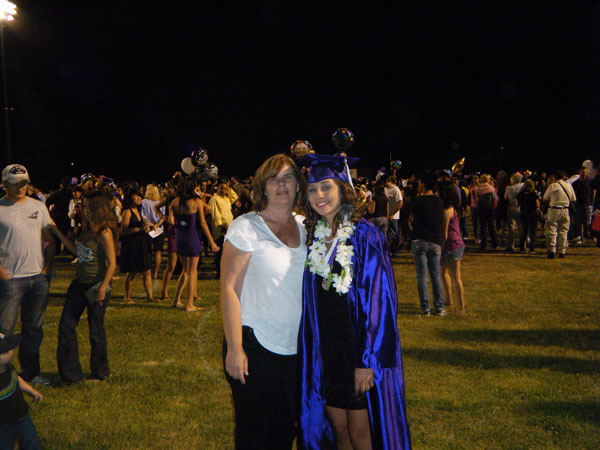 This photo was taken in 2009 at Cades High school graduation. At this time, my mother wasn't ill that we were aware of. This was a very special day for my mom and Sister as they called this an accomplishment they did together. Growing up my brother and I had both parents that we lived with and helped us with school, etc. My sister had a very special relationship with my mom as she mostly grew up with her and lived with her most of her life. Photo courtesy of the Garcia family. Caption courtesy of Michael Garcia.