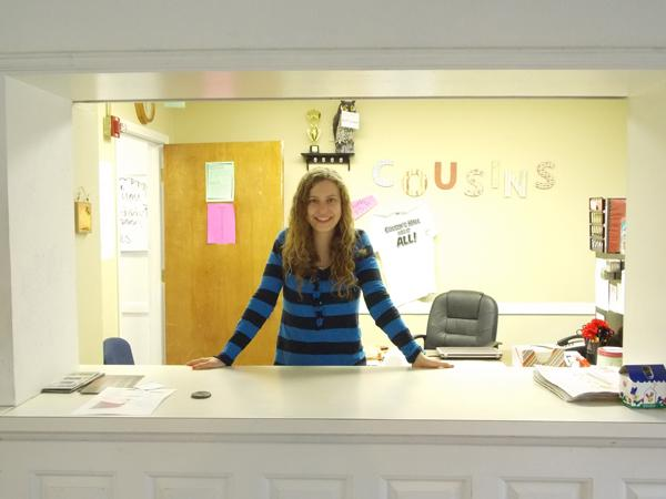 Brently Pennington works as an R.A. for Cousins Hall at WT. Photo by Phoebe Sinclair.
