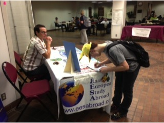 A WT student finds out more about the Eastern European Study Abroad programs
