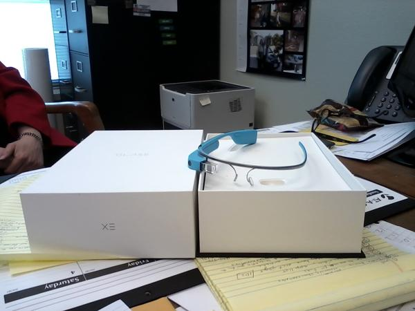 Google Glass to be used in Dr. Emily Kinsky's New Media Class