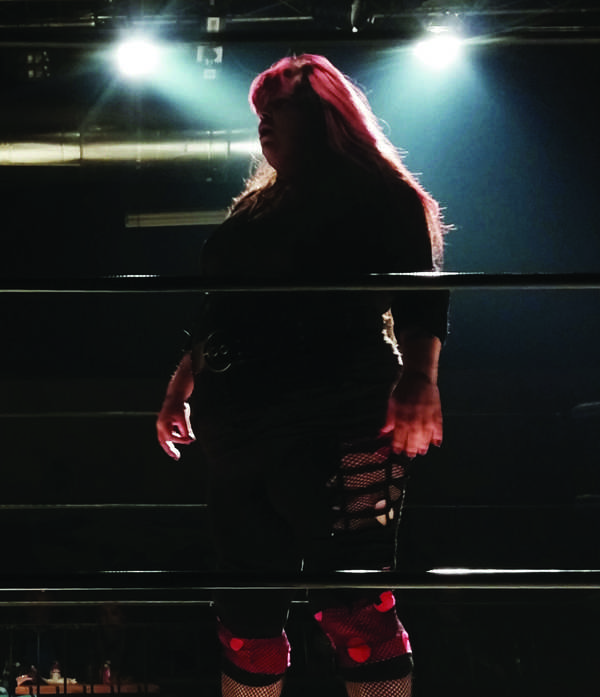 Lillith Blood challenges for the Nightmare Pro Championship.