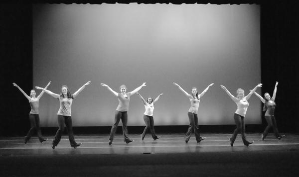 "Dancers perform Mindy Copeland's ""Sound is Pound."" Courtesy of Edward Truitt"