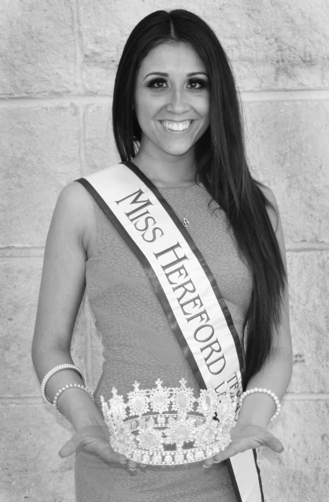 Amy Romero is a West Texas A&M University student who competes in beauty pageants but is also an advocate for teen suicide awareness and a member of the Ad/PR Society.