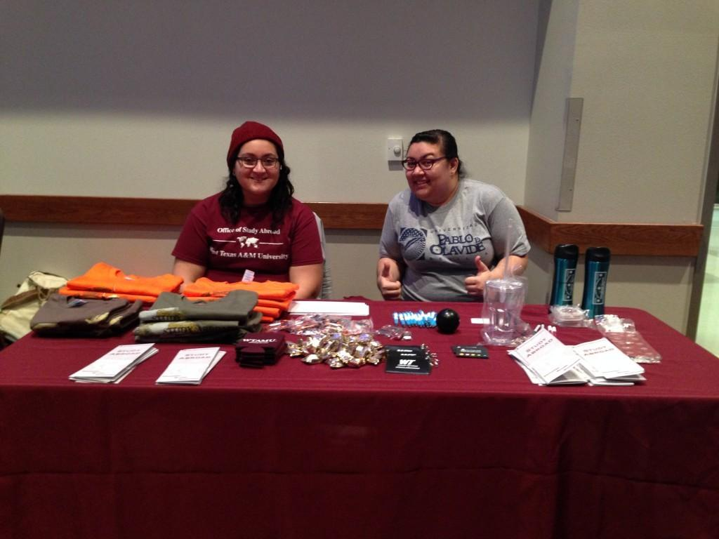 Students were able to apply for and renew passports at the Study Abroad Fair.