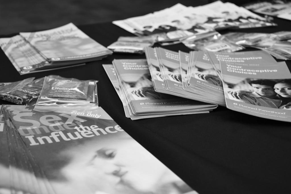 PULSE is handing out pamphlets and condoms to students in the JBK.